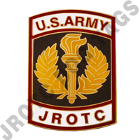 Army JROTC Crest For Nameplate