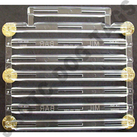 "23 Ribbon Rack 1/8"" Spaced"