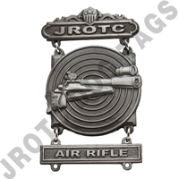 Army JROTC Sharpshooter Air Rifle Qualification  Badge