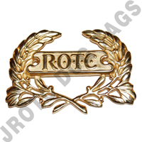 ROTC Wreath Gold Pin Back