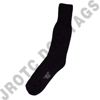 Black Boot Socks Cotton 50 Pairs