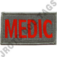Medic (Red Letters) ACU  Leadership Patch