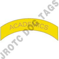 Academics (Yellow) Arc Pin