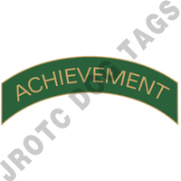 Achievement (Green) Arc Pin