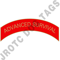 Advanced Survival (Red) Arc Pin