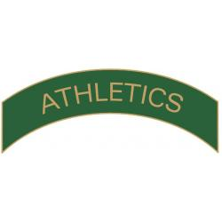 Athletics (Green) Arc Pin
