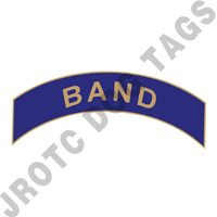 Band (Blue) Arc Pin