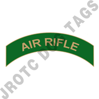 Air Rifle (Green) Arc Pin