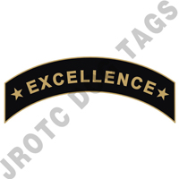 *Excellence* Arc Pin (Black)