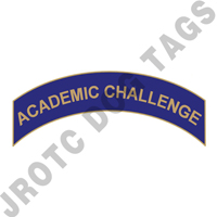 Academic Challenge (Blue) Arc Pin