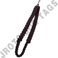 Brown Shoulder Cord Button Loop