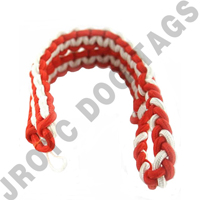 2 Color Shoulder Cord Orange / White Button Loop