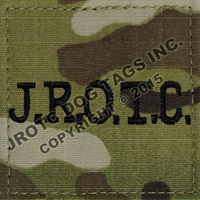 OCP J.R.O.T.C. Rank Patch