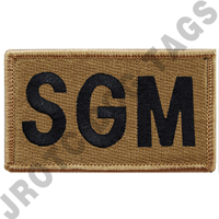 OCP  Sgm Leadership Patch