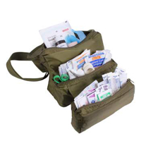 First Aid Medical Kit Olive Drab JROTC/ROTC