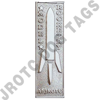 Model Rocketry Badge Silver