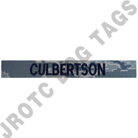 ABU Individual Nametape Hook Back (Each)