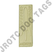 Model Rocketry Badge Gold