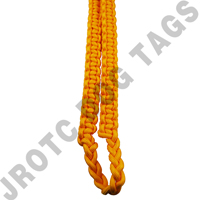 Yellow Shoulder Cord  With Pin Attachment