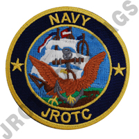 Navy JROTC Color Patch