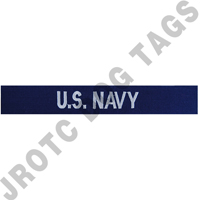 "Enlisted Navy ""U.S. Navy"" Nametape"
