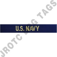 "Officer Navy ""U.S. Navy"" Nametape"
