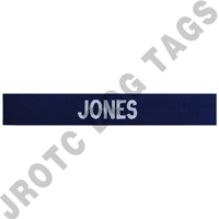 Enlisted Navy Individual Nametape