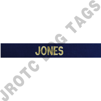 Officer Navy Individual Nametape