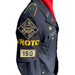 Army JROTC shoulder brassard hall pass