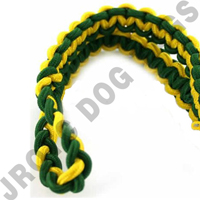 2 Color Shoulder Cord Green / Yellow With Pin Attachment (Takes 4 Weeks)